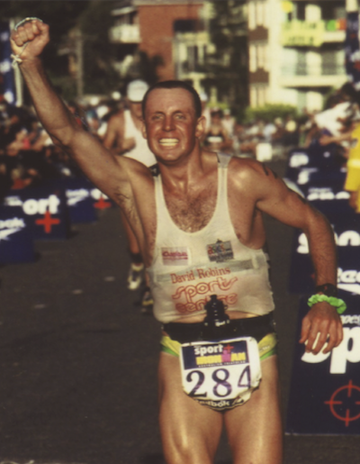 Completing first marathon after the accident